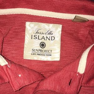 Island Polo Red Small